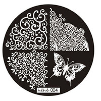 Wholesale Best Deal New Good Quality Butterfly Pattern Nail Art Image Stamp Stamping Plates Manicure Template Nail Art Tool PC