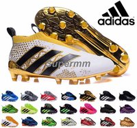 ace golds - Adidas Ace Purecontrol Primeknit Soccer Cleats Firm Ground Cleats Trainers NSG FG CG ACE Mens Football Boots Soccer Shoes With Box