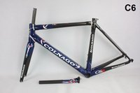 Wholesale 2017 new model carbon road bike C2 matte glossy carbon road frame cycling bike China new model T1000 BB386 carbon frame