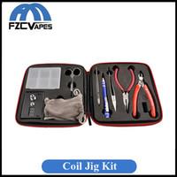 Cheap Full Set Coil Jig Tool Kit Coil Terminator DIY Tools Winding Coiler Kuro for RDA RBA Fans
