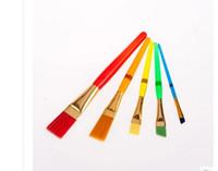 baby paint brush - Painting supplies arts tools Color plastic rod children s paint brush set baby painting brush