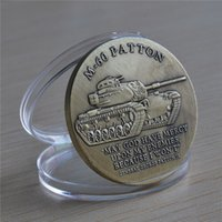 army challenge coins - U S Army M Patton Battle Tank Armored Weapon Challenge Coin