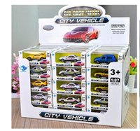 Wholesale 1 Diecast Model Toy Car Vehicle High Quality Baby Toy Cars Diecast Car Model Christmas Gifts DHL