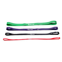 Wholesale 1 Set Fitness Resistance Bands Exercise Loop for Light Med Heavy Exercise Natural Latex Yoga Exercise Resistance Bands