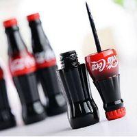 Wholesale New fashion Cosmetic Cola Style Waterproof Eyeliner Liquid Type Makeup Eye liner Long Last Black Eyeliner ZA2455