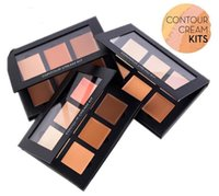 Wholesale Dropshipping high quality Ana Cream Contour Kit Light Medium deep Makeup Face Powder Foundation Concealer Ana contour cream kit