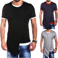 asian dress shirts - Asian Size XXL Men s Summer Dress Clothing Male Hip Hop O neck Streetwear T Shirt Homme Short Sleeve Sportswear Tops Tee Men