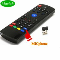 best tv dongle - Best TV BOX Mini Remote Control MX3 with Micphone Original MXiii Wireless GHz Fly Mouse Keyboard for Media Player Dongle PC