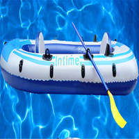 Wholesale inflatable rafts boating fishing sailing opblaasboot bootje in sizes with paddle and hand pump