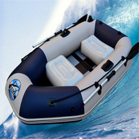 Wholesale inflatable boat kayak fishing made from super touch pvc in sizes with carry bag paddle foot ump and wooden bottom