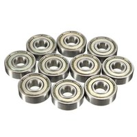 Wholesale 10pcs Double Shielded Miniature High carbon Steel Single Row ZZ Deep Groove Ball Bearing x22x7 mm ZZ