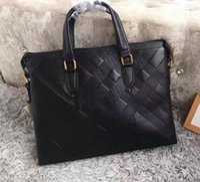 Compra Borse per gli uomini-hotselling borse di lusso di marca per uomo stilista sacchetto di affari di alta qualità borse in vera pelle per l'uomo valigette bag