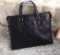 achat en gros de cuir véritable sac fourre-tout des hommes-Hotselling sacs de marque de luxe pour homme designer de mode sac d'affaires de qualité supérieure sacs en cuir véritable pour sacoche pour serviette homme