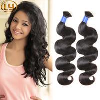 Wholesale Synthetic Brazilian Weaving Hair - 7a Malaysian Micro mini Braiding Bulk Hair No Attachment Body Wave 3 Bundles Unprocessed Malaysian Bulk Hair Cheap Human Hair Weave