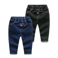 Wholesale Baby Boys Jeans Pants Kids Leggings Toddler Harem Pants Casual Trousers Children Spring Clothes Free DHL