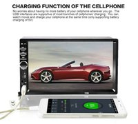Wholesale Universal quot Din Car DVD Audio Stereo Player Touch Screen Car Video MP5 Player TF USB FM Radio Support Bluetooth Hands free Call
