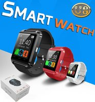 Wholesale U8 Bluetooth Smart watch Wrist Watches Smart Watch For iPhone Plus S Samsung S7 edge Note HTC LG Android Smartphones with RetailBox
