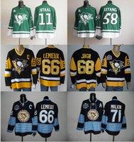 2017 Stadium Series Hockey Jersey Homme Pittsburgh Penguins 81 Phil Kessel 87 Sidney Crosby 30 Matt Murray 58 Kris Letang 71 Evgeni Malkin