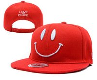 ball smile - Men s New Hats Smile Fresh Stitched Fashion Caps Adjustable Hats Drop shipping