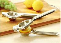 Wholesale 50 Stainless Steel Manual Juicer Home Lemon Clip Mini Juicer Creative Juicy Orange Juice Pomegranate Juice
