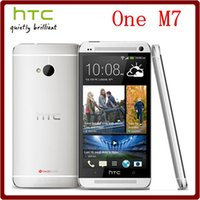 Wholesale HTC One M7 Original Unlocked Quad Core Inch GB GB TouchScreen G Android GPS WIFI Smartphone Refurbished