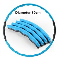 Wholesale HOT cm hula hoop easy to carry removable hula hoop lose weight can add weight fitness hula hoop Women and man