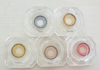 Wholesale Cosmetic soft colored contact lens Hami Quee cheap colored contact lenses for big eyes yearly