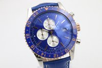 ba specials - Special offer sales cover blue digital automatic movement Blue Leather Watchband Christmas gif b01 blue dial luxury men s watch ba