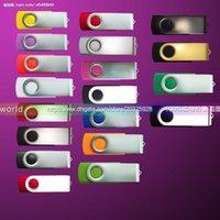 Wholesale Generic GB Pen Drives Swivel Customized Logo USB Flash Memory Pen Drives Sticks Disks Disk USB Pendrives Thumbdrives