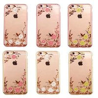 amazing protective covers - For iPhone S Case Plating Color TPU Cover Protective Top Quality Amazing Price Secret Garden Two