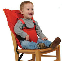 Wholesale DHL Free Multifunctional Adjustable Safety Baby Chair Seat Portable Infant gallus firm Dining Highchair Seat For Baby Safety Suspender