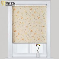 Wholesale European sytle high quality popular roller blinds curtains for window shade customized size from China factory