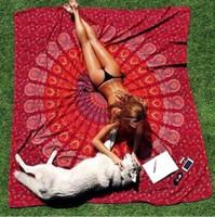 Wholesale Positioning digital printing chiffon beach towel shawl rectangular scarf