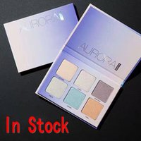 Wholesale Newest Aurora High quality Makeup Eye shadow Bronzers Highlight Face Powder Blusher Color Palette Cosmetic DHL Drop Shipping