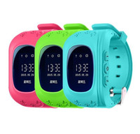 anti gsm - DHL Q50 Smart watch Children Kid Wristwatch Q50 GSM GPS LBS SOS Anti Lost Smartwatch Child Guard for iOS Androidd