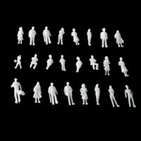 Plastics best architectural - best selling White unpainted Architectural Scale Model Figures People