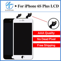 Wholesale 3D Touch inch LCD Display For iPhone s Plus LCD Digitizer Screen Replacement Black White No Dead Pixel