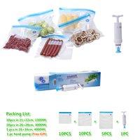 best food china - Vacuum zipper bags patent in China Vacuum food packaging bags set with hand pump Best vacuum storage bags