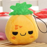 best fruits and vegetables - cm pineapple Mini Doll Pendant for baby cradle Best child educational toys Let children know fruits and vegetables
