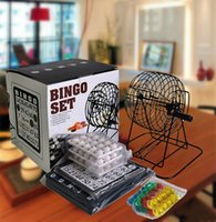Wholesale Total balls Mini Lottery Machine Draw Machine Bingo game set for party home pub office etc entertainment