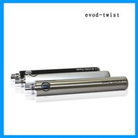 Wholesale EVOD twist battery color optional EGO and interfaces the output voltage of V adjustable
