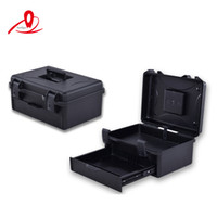 Wholesale Draw out type injection moulded suitcase for tools cover with two layers