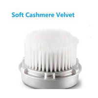 Wholesale Deep Electric Face Cleaner Massager Brush Soft Cashmere Velvet Washing Face Skin Care Pore Brush Makeup Cosmetic Beauty items Gifts PX B15