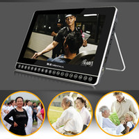 Vente en gros - Nintaus lecteur vidéo HD 13 pouces Portable Dvd Support RM, RMVB, AVI, MKV, WMV, VOB, MOV, FLV, ASF, DAT MP4,3GP, MOG, MPEG Game