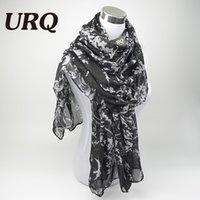 Adult best scarf brands men - fashion flower viscose scarf women long soft spring shawls best gift for ladies brand scarves echarpe V8A18443