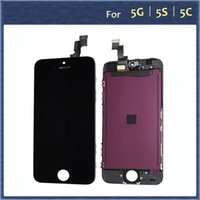Wholesale Front LCD Screen with Touch Digitizer assembly and frame Replacement for iPhone C S Black White
