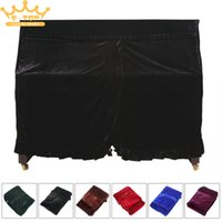 Wholesale Pleuche Musical Piano Dust proof Cover Dust Guard Tool for Upright piano