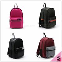 Backpack Style Women Letter Pink Letter Backpack VS Fashion Handbags Women Messenger Shoulder Bag Rucksack Tote Bag Vintage Clutch Bag Luggage Crossbody Bags New B1440