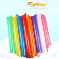 Wholesale Bam Bam Thunder Cheer Sticks for Party Sports Games Cheerleading Plastic Clap Hands Outfit Inflatable Noisemakers cm