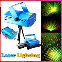 best home entertainment - Best Selling Mini Laser Stage Lighting mW mini Green Red Laser DJ Party Stage Lighting Light with Retail Box